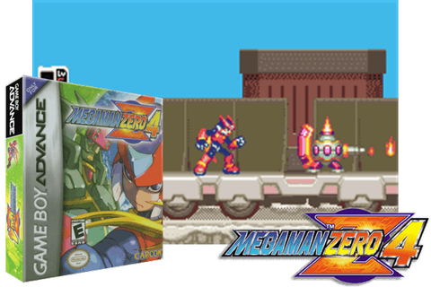 MEGA MAN ZERO 4 [EUROPE] - (Game Boy Advance ...