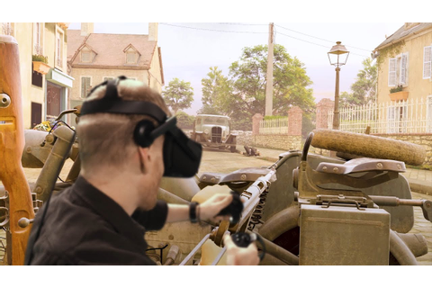 VR『メダル・オブ・オナー』、『Medal of Honor: Above and Beyond』ゲームプレイ ...