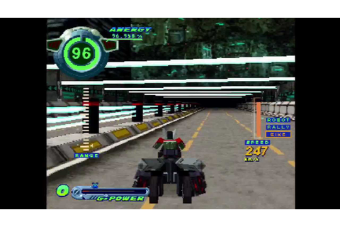 PS1 Gameplay: Speed Power Gunbike (可変走攻 ガンバイク) - YouTube