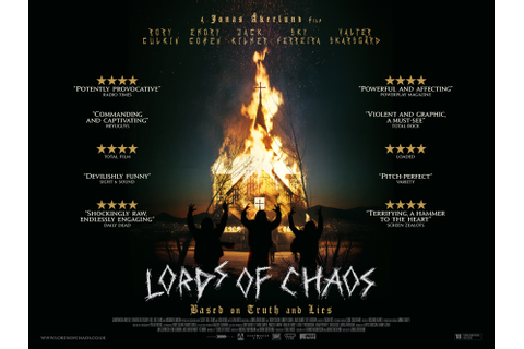 New Quad Poster For March-Released 'Lords Of Chaos'