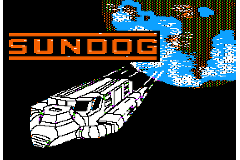 SunDog: Frozen Legacy (1984) by FTL Apple II E game