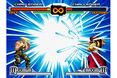SVC Chaos: SNK vs. Capcom (Europe) PS2 ISO - CDRomance