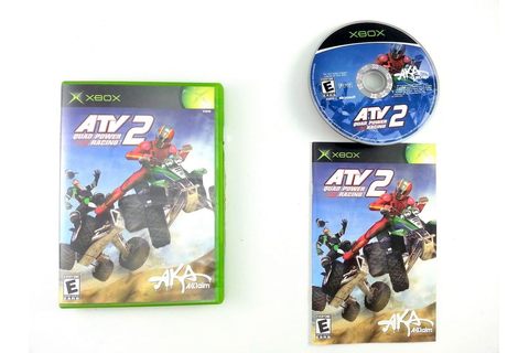 ATV Quad Power Racing 2 game for Xbox (Complete) | The ...