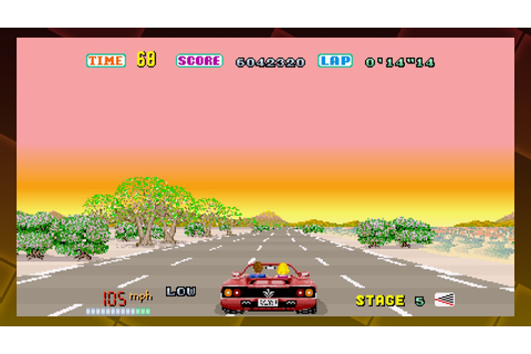 SEGA AGES Out Run (Switch eShop) Game Profile | News ...