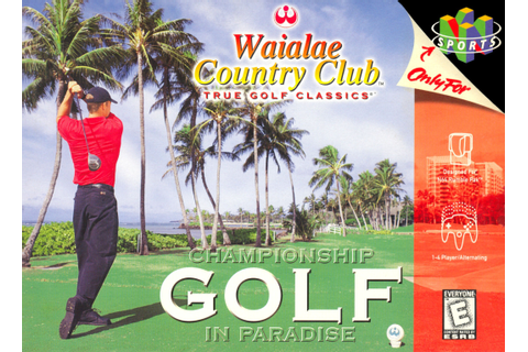 Waialae Country Club: True Golf Classics Nintendo 64 N64