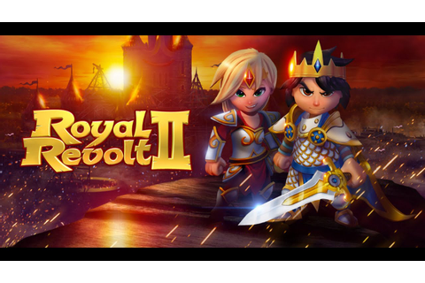ROYAL REVOLT 2 GAMEPLAY BEGINNER PART 1 - FREE GAME TO ...