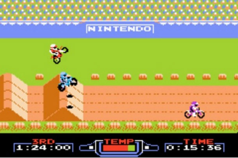Emulators and Roms: Super Mario ExciteBike - download ...