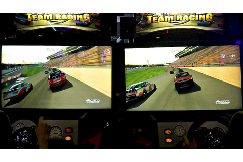 Boys VS Girls 2 Player Arcade Racing Games! レースゲーム - YouTube