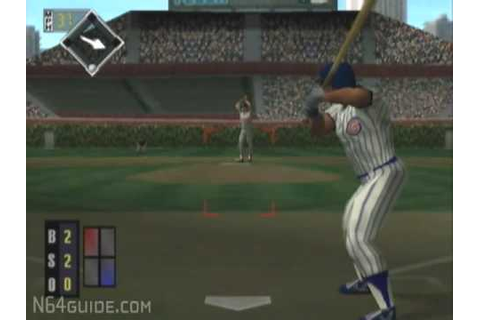 All-Star Baseball 99 - N64 Gameplay - YouTube