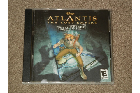 Atlantis: The Lost Empire : Trial By Fire (Disney, Windows ...