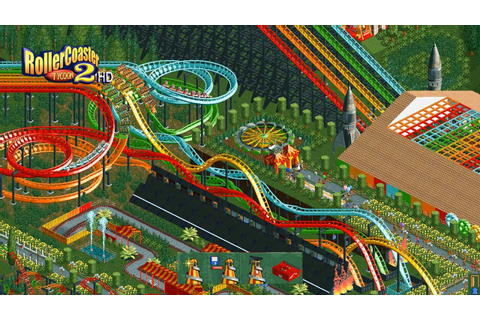 RollerCoaster Tycoon 2 HD - Intro Remade - YouTube