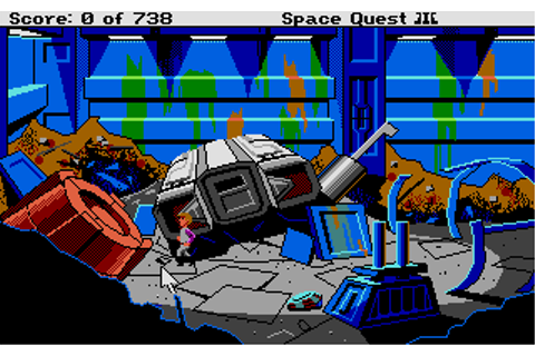 Space Quest III: The Pirates of Pestulon (1989) by Sierra ...