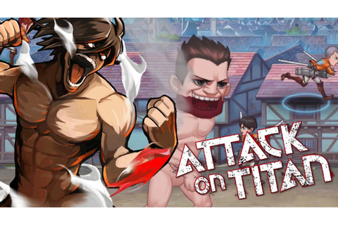 ATTACK ON TITAN MOBILE GAME! | Titans Clash Gameplay - YouTube