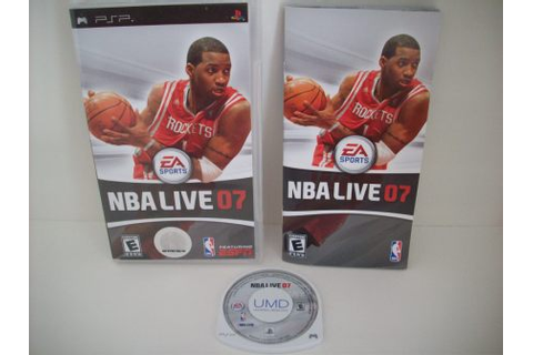 NBA Live 07 - PSP Game, Just Go Vintage