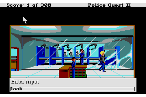 Police Quest II: The Vengeance (1989) Atari ST game