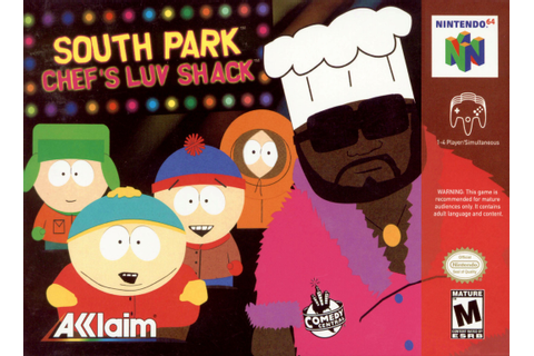 South Park Chef's Luv Shack Nintendo 64 Game