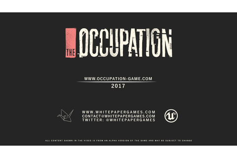 The Occupation - Announce Trailer - YouTube