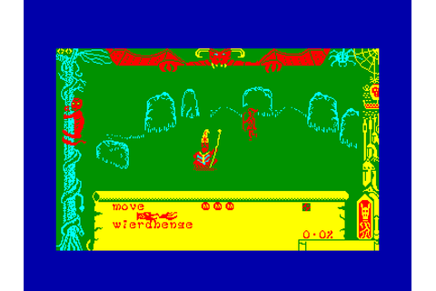 Dragontorc of avalon by Hewson on Amstrad CPC (1985)
