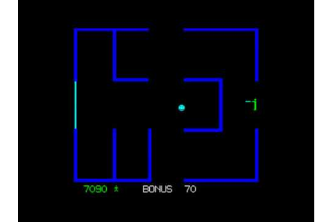 Berzerk arcade game(Fast Evil Otto) - YouTube