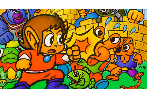 Alex Kidd In Miracle World Was Supposed To Be A Dragon ...