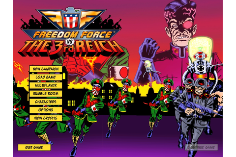 Steam Community :: Freedom Force vs. the 3rd Reich