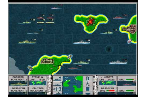 IE 7 PC games preview - Lost Admiral 2 (1994) - YouTube