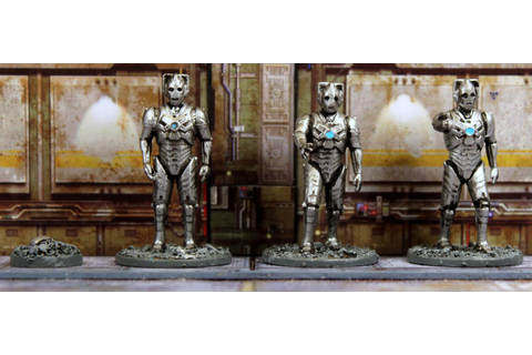 Vampifan's World of the Undead: Warlord Games Cybermen part 01
