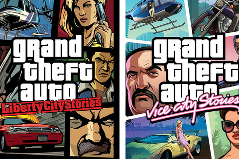 Grand Theft Auto: Liberty City Stories, Vice City Stories ...