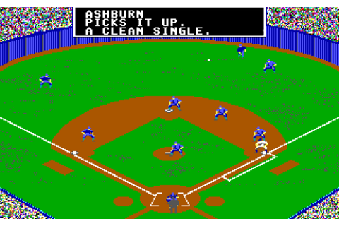 Here are the best baseball DOS games you can play online ...