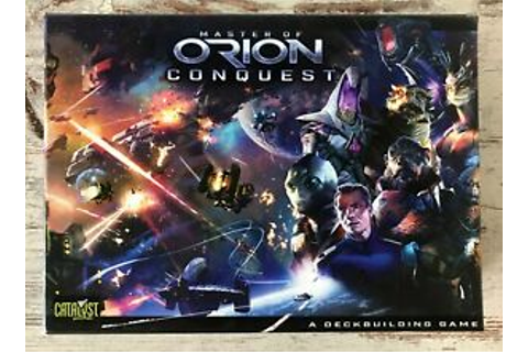 MASTER OF ORION CONQUEST - Conquer The Stars - Catalyst ...