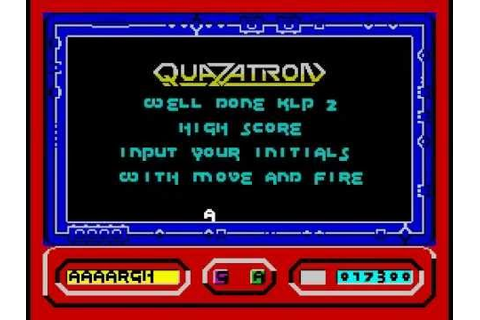 Quazatron Walkthrough, ZX Spectrum - YouTube