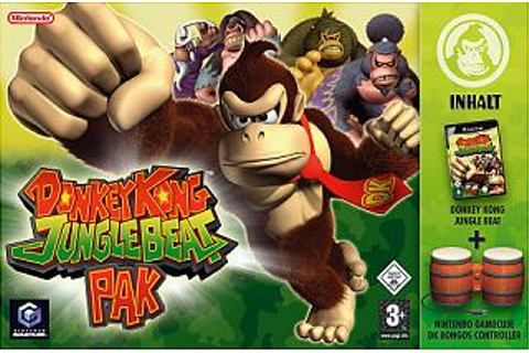 Donkey Kong: Jungle Beat - GameCube