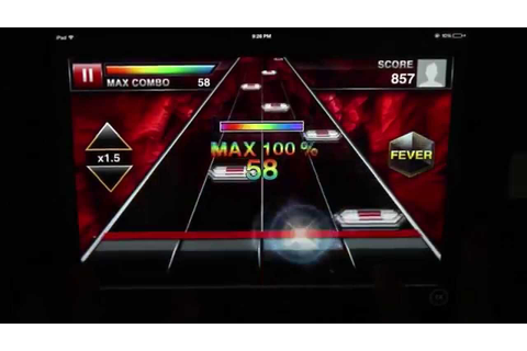 DJMax Ray Quick Review - iOS Rhythm Game Roundup - YouTube