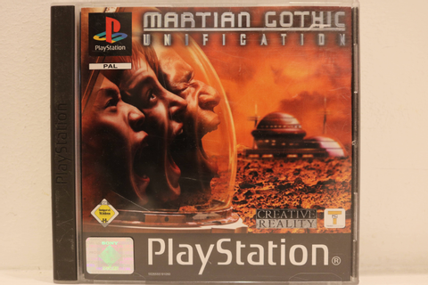 Original PAL Sony Playstation 1 (PS1) Spiel: Martian ...