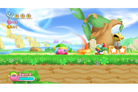Kirby's Return to Dream Land (Wii) Screenshots