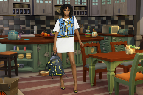 Moschino & Sims Collaboration: When High Fashion, Video ...