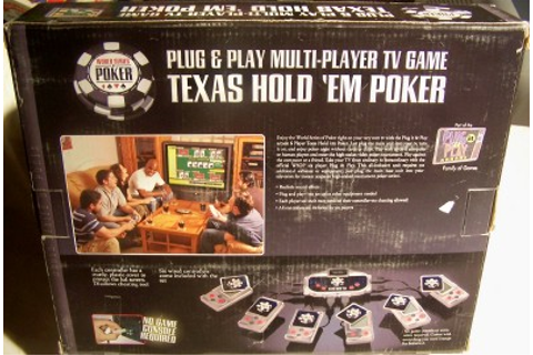 WORLD SERIES OF POKER TEXAS HOLD 'EM POKER PLUG & PLAY ...