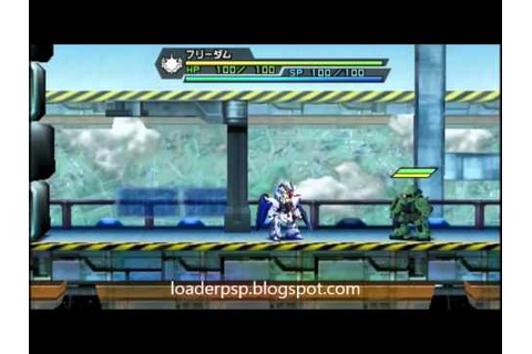 Great Battle Fullblast PSP Gameplay - YouTube