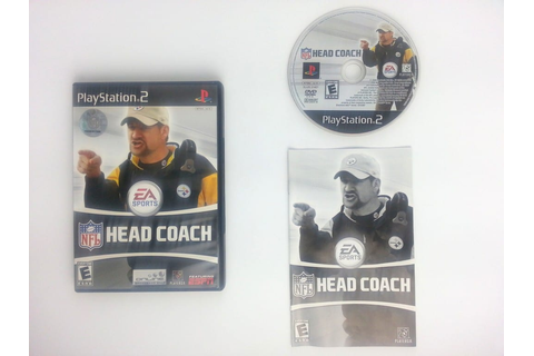 NFL Head Coach game for Playstation 2 (Complete) | The ...