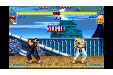 Hyper Street Fighter II The Anniversary Edition - Game ...