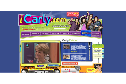 ICarly | Nickelodeon Games Wiki | Fandom