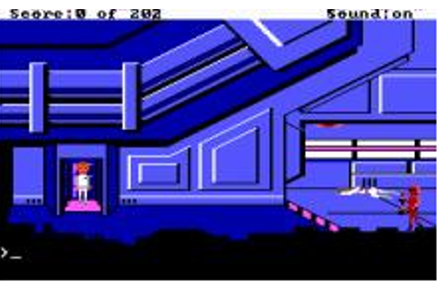 Space Quest: The Sarien Encounter Download (1986 Adventure ...