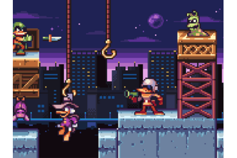 COOL PIXEL ART! - Darkwing Duck by DYA Games - Dribbble