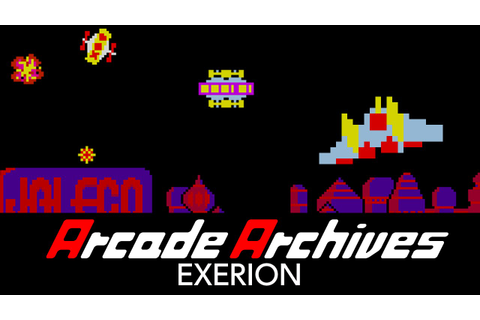 Arcade Archives EXERION - YouTube