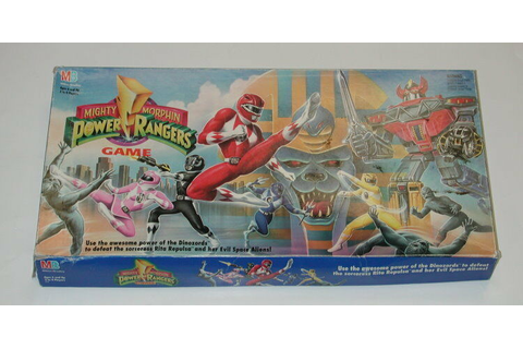 1993 Milton Bradley Mighty Morphin Power Rangers Board ...