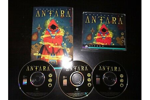 Betrayal in Antara (Windows PC, 1997) game and manual ...