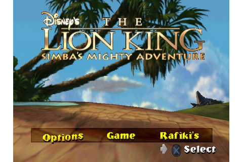 Disney's The Lion King: Simba's Mighty Adventure » PSCD.ru ...