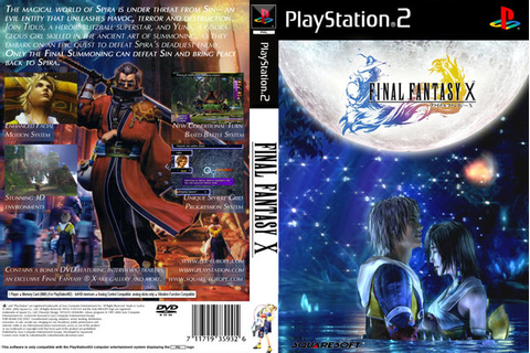 game PS2 final fantasy x - 3.6 Gb ISO - download installer ...