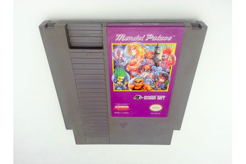 Mendel Palace game for Nintendo NES - Loose - TheGameGuy.ca