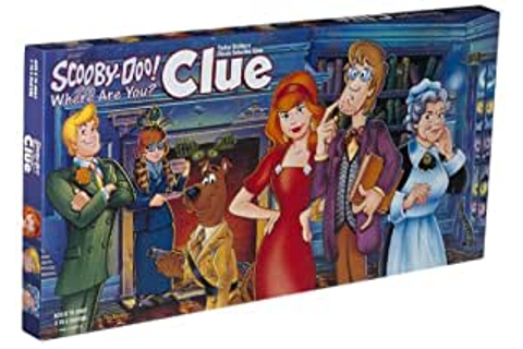 Amazon.com: Scooby Doo Clue Board Game: Toys & Games